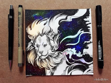 .Inktober Day 20 - Perseverance by iLDS