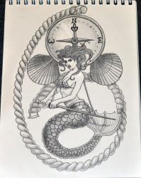 Pisces sketch by Nelsonito