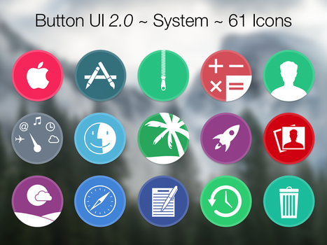 Button UI 2.0 ~ System Icons by BlackVariant