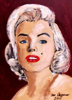 MARILYN MONROE by TEOFAITH