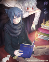 No.6: Sion and Nezumi by kuroi-onee