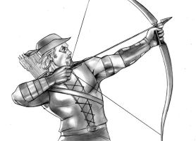 Green arrow Commish by Csyeung