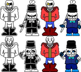 [SMG!Underswap] Skelebros.+Vengenceful Sans by SMG69