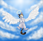 [GIFT] Angel's Angel by ChocolateQuill