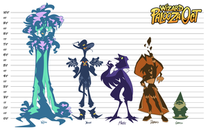 Wizard Palooza OCT - NPC Height Chart by 7-Days-Luck