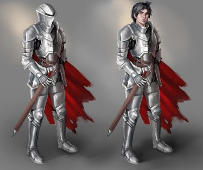 guy with ravens concept by jei6x