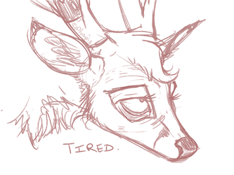 TIRED. by Plumpig