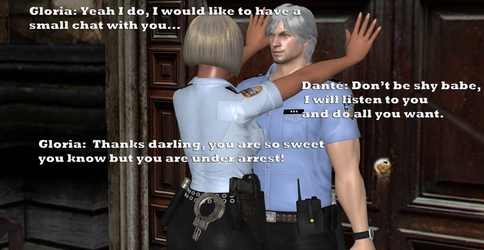 Traitor Dante The Policeman part 3 by white-angel-dante