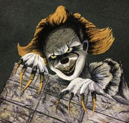 Pennywise The Dancing Clown [Painting] by Adam-The-Person