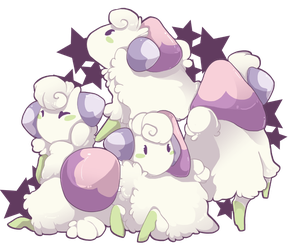 PKMNation: Mini Mushrooms by CatLuvsCookies