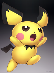 Pichu (Ultimate) by hybridmink