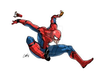 Spiderman homecoming by jorgecopo