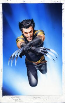 Unpublished X2:Wolverine Cover by mikemayhew