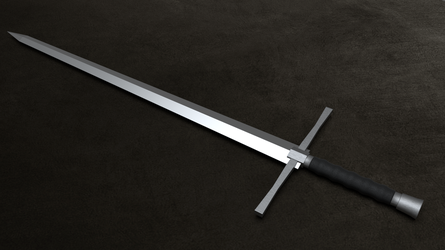 3D One-Handed Sword by Tesseract95