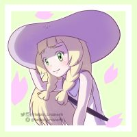 Lillie - Pokemon Sun and Moon by kelvin-trainerk