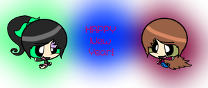 HAPPY NEW YEAR! (Plus New OC!) by XxDrewpuff11xX