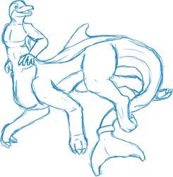 Dolphin taur! by blackminorscales