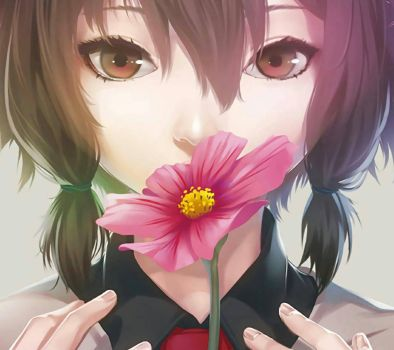 Anime Flower by mixalism9