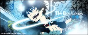 The Blue Exorcist by bluezexe