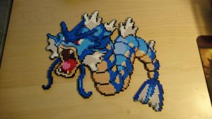 Pokemon #12 - Gyarados by MagicPearls