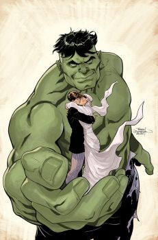 Hulk 80's Variant Cover by TerryDodson