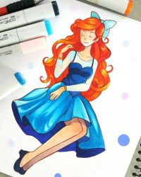 +Casual Ariel+ by larienne