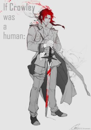 Crowley-human by Sinto-risky