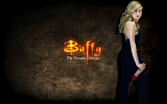 Buffy the vampire slayer Wallpaper by BloodyMelliNelliXx