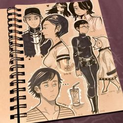 Lilly-Lamb Sketchbook 2018 Part 5 by Lilly-Lamb