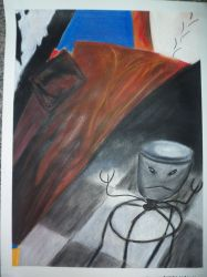 Collage Drawing Untitled 1 by Sandy99A