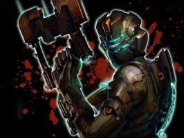 dead space 2 wallpaper by shedg
