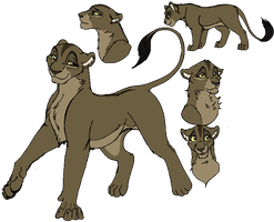 Navare- The Lion King OC by Kisshus-Koneko-Chan