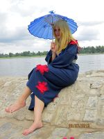 Lucy Fairy Tail Yukata OVA 4 Cosplay by Lucy-chan90