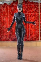 New costume tribute - Catwoman by Rei-Doll