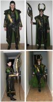 Loki costume by ihni