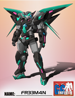 GG Contest: Exia Dark Matter by 73H-FR33M4N