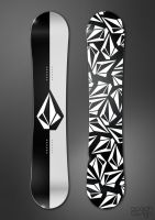 Volcom Black in Black by paulodesign