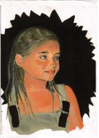Girl In Spain by v-e-y-a