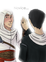 Mission: Hug Altair by blueToaster
