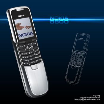 NOKIA 8800 by JJ-Ying
