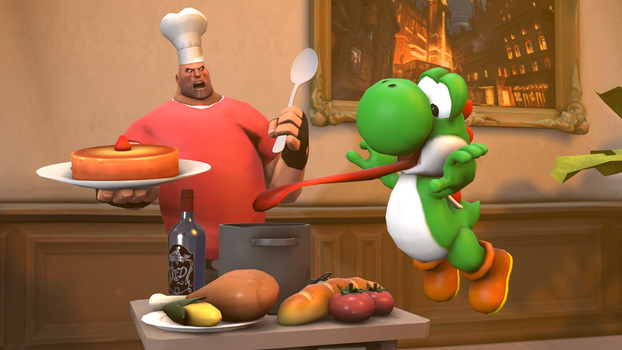 [SFM] Food stealer by ZeFrenchM