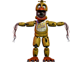 Withered Chica V.5 [IMPROVED] by CoolioArt