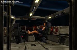 Commissioned: The Blod-Hek-Nai's Flightdeck by Colourbrand