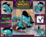 World of Warcraft - Noobi the Netherwhelp Plush by Forge-Your-Fantasy