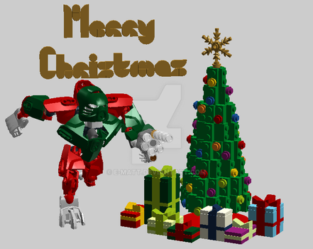 Christmas Matoran by E-Matt
