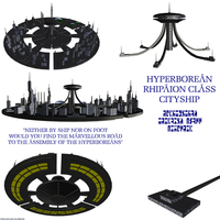 Hyperborean Rhipaion Cityship by Chiletrek