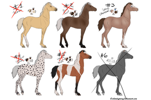 CLOSED horse point adoptables by Pukzzi