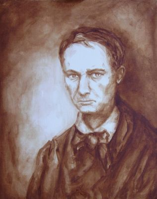 The Portrait Of Ch. Baudelaire by PeeterOra1