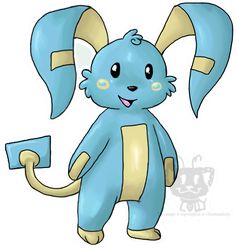 Minun Evolution by Christmaslolly