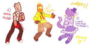 Object Head Adopts! batch 2! CLOSED by ZodiacCloud